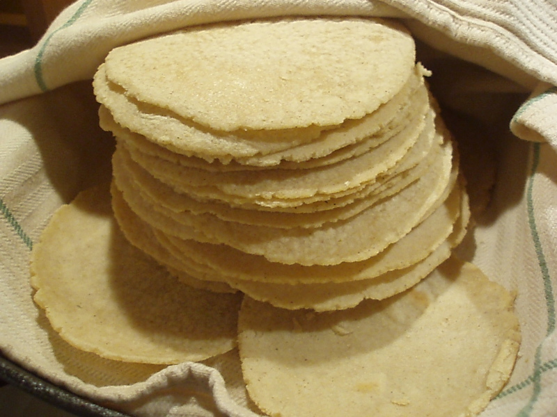 Tortillas de maíz | De viaje a México